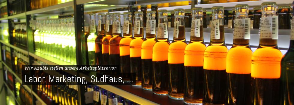 Orte in der Warsteiner Brauerei